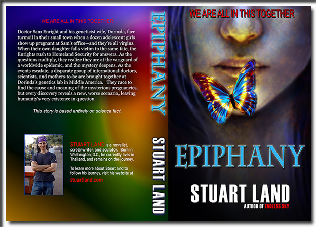 Epiphany - Stuart Land - print cover